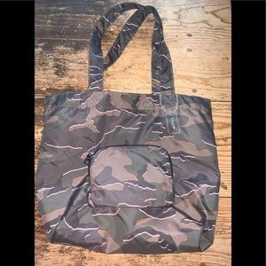 Coach Packable Tote With Wile Camo Print in Green